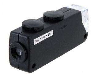 Микроскоп 60х - 100х увеличение
